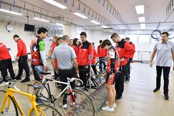 サイクルサッカードイツJr選手団来日歓迎イベント