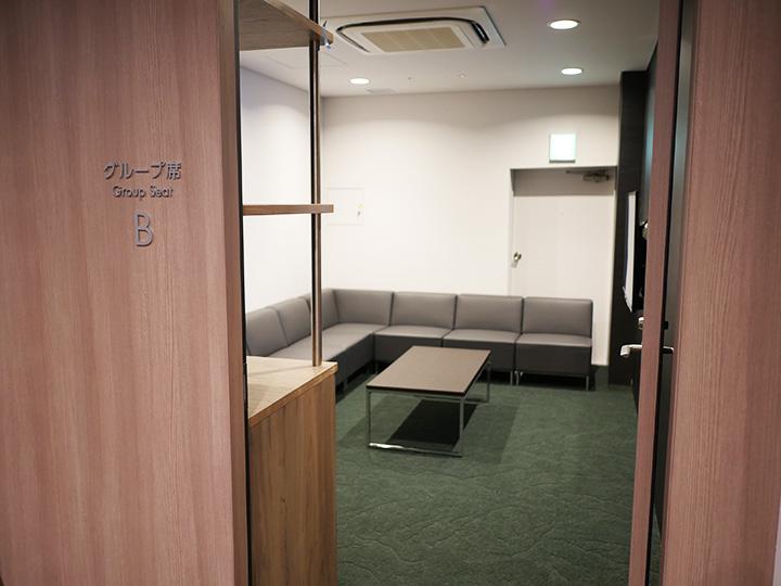 2階プレミアムルーム グループ席